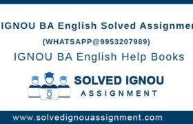 IGNOU BA English