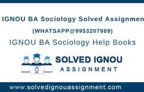 IGNOU BA Sociology