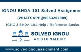 BHDA101 Assignment